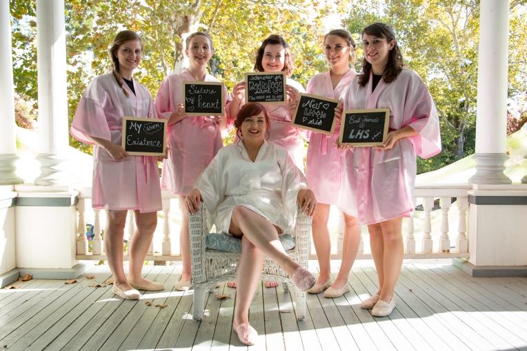 How each Bridesmaid met the Bride